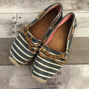 Sperry Top Sider Espadrilles Nautical Boat Shoes